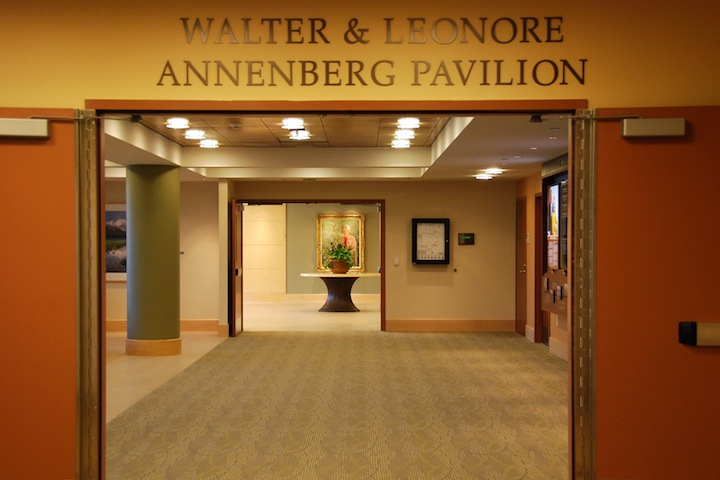 Waltor and Leonore Annenberg Pavilion