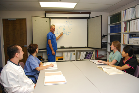 School of Medical Technology classroom